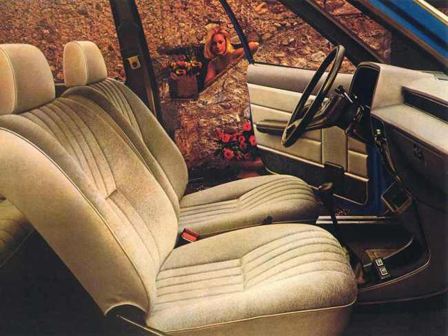 Chrysler Alpine interior