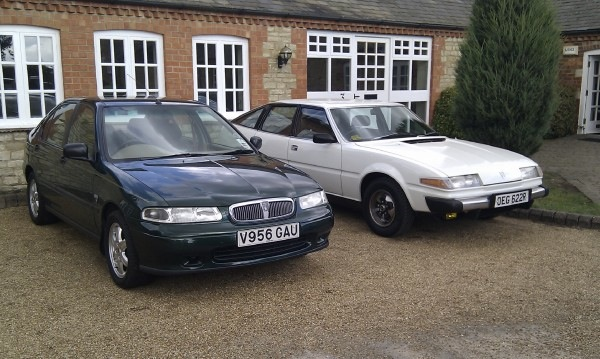Two great examples of Rover: Both sadly up for grabs.