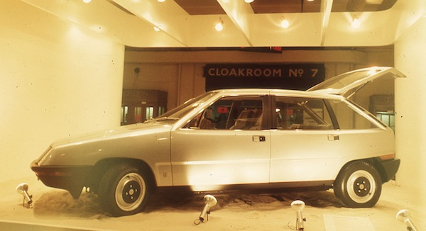 BL Aquila prototype at the 1973 London Motor Show (Picture: Shahin, www.paykanhunter.com)
