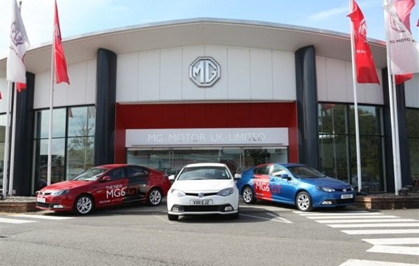 MG6s at Longbridge are about to go on tour...