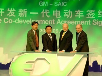 GM and SAIC agree on future EV co-operation in China
