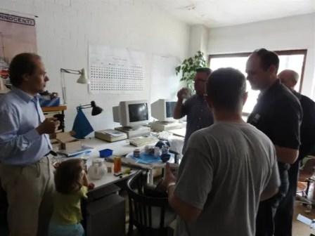 9. Meeting Alexander Boucke in Achen