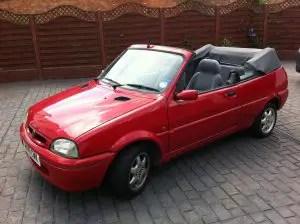 Rover 114 Cabriolet