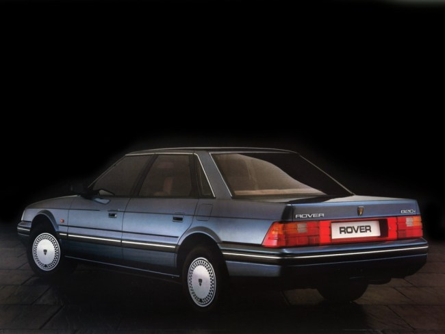 Rover 800 in launch form – crisp and up-to the minute