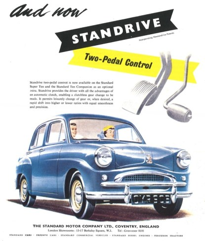 Standard Eight, Ten and Pennant - Standrive