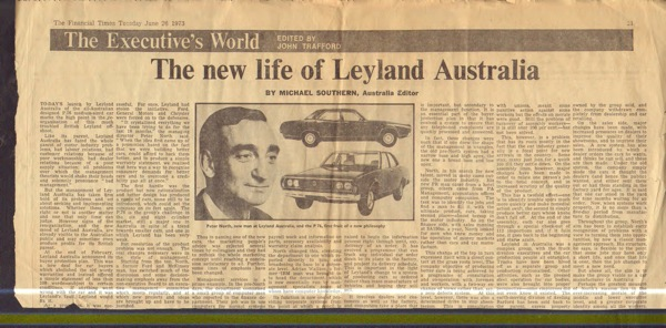 The new life of Leyland Australia