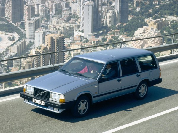 The Volvo 740 Turbo estate. Hardly the kind of car you'd associate with Monaco!