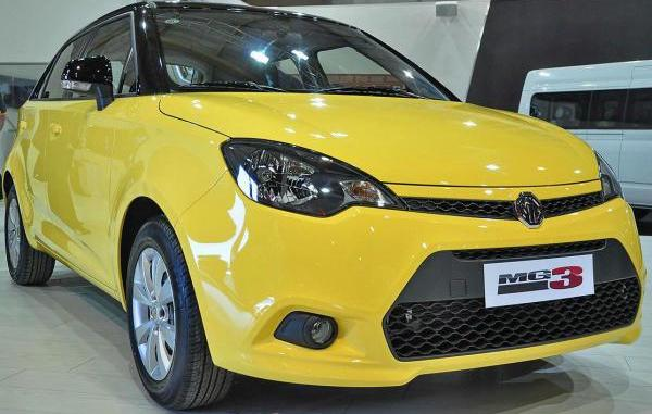 MG3 made its debut at the Johannesburg notor show