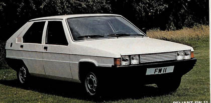 Concepts : Triumph SD2 - the prototype Citroen BX