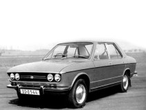 1971 Škoda Type 720 AD-3 Prototype featured front-wheel drive. Much of its stying was carried over to the 1976 Estelle.
