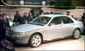 The turnaround started with the launch of the Rover 75