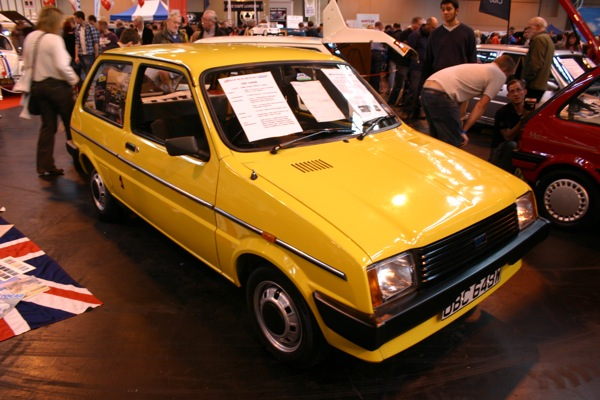 Austin miniMetro was a NEC star in 2011, just as it was in 1980...