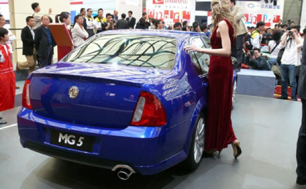 So far this is the only MG5 to make the motor show circuit