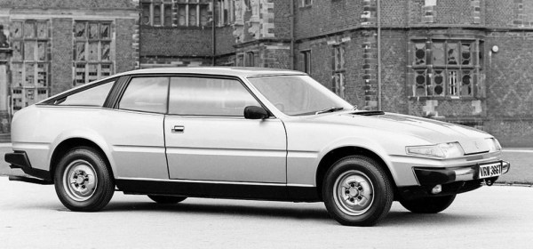 Richard Kilpatrick's SD1 Coupe, with its Stag-like shoulder-line...
