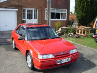 Rover 200 was part of a long string of old cars..