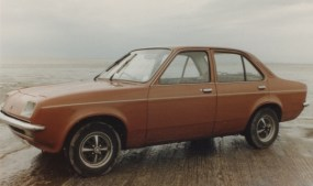 Keith Adams' first presentable Chevette. Nice until the gearbox broke...