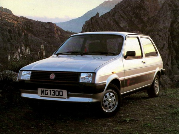 MG Metro at launch in June 1982