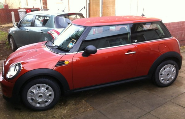 MINI First - the first new car ever to join the AROnline fleet