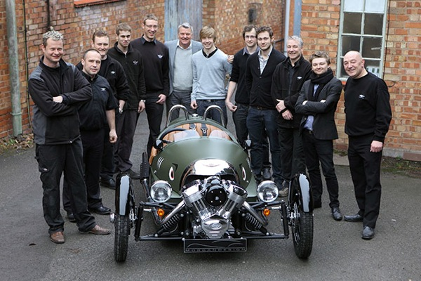 In an increasingly sanitised world, the Morgan 3Wheeler is a genuine feel-good arrival.