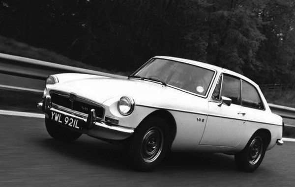 MGB GT V8 - launched amid a fuel crisis