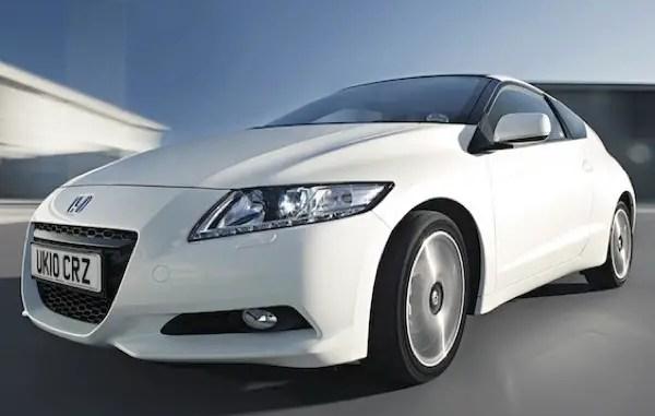 Honda CR-Z - hybrid state of the art in 2011
