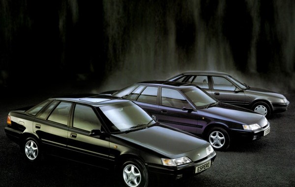 The Daewoo Espero range in 1995