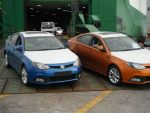 MG5s dock-side in Auckland