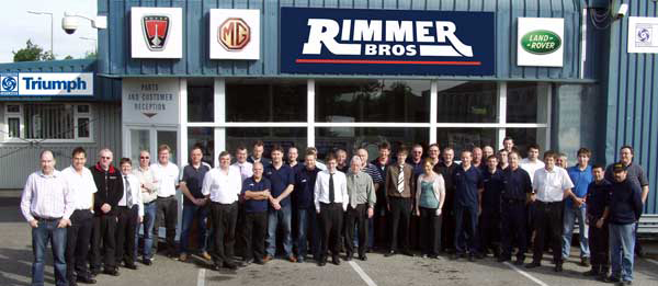 The Rimmer Bros team has grown in the last 30 years