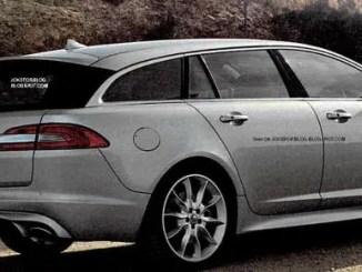 Jaguar Sportsbrake leaked image