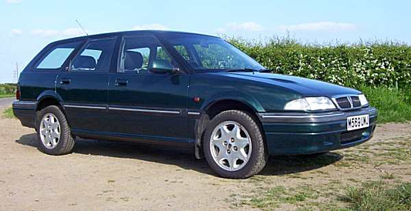 Rover 420GSI Tourer run as a general hack at AROnline Towers for a couple of years in the mid-2000s. It never missed a beat.