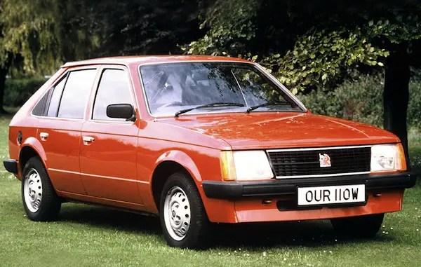Vauxhall Astra was a rebadged Opel Kadett