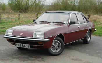 1980 Vauxhall Cavalier 2000GLS