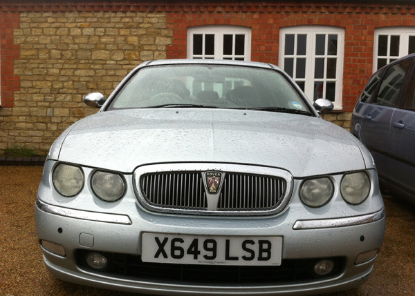 Rover 75 1.8 - it's good and bad