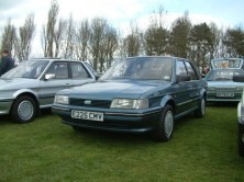 The MMOC were in full cry along with this lovely 1987 Montego 2.0 which drove so well.