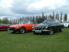 Happy 50th birthday MGB - The V8 model here was simply stunning!