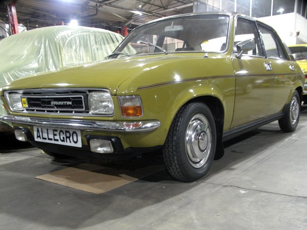Austin Allegro on sale at H&H's next auction