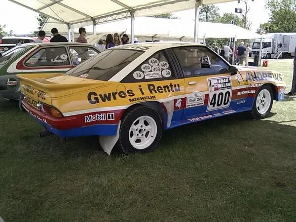 Russell Brookes 1985 Group B Dealer Sport Manta 400
