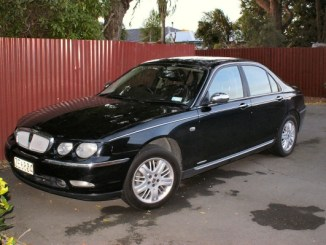 Warren's Rover 75 - an all-night drive across New Zealand was a great introduction