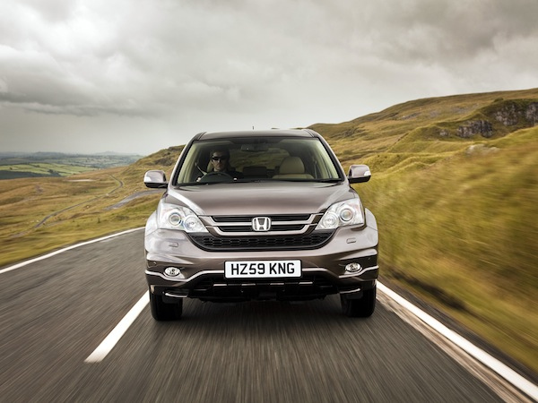 Honda CR-V wins the HJ award for the most popular 4x4
