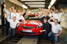 Double Celebration - 50 years of Ellesmere Port and the all new 2013 Astra is to remain there too!