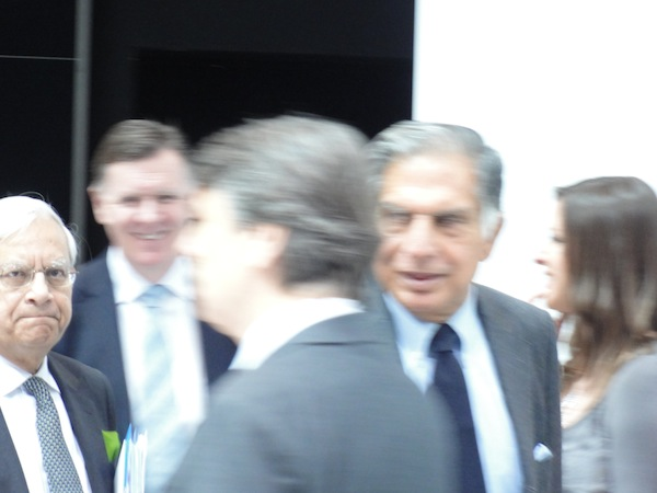 Ratan Tata at Geneva