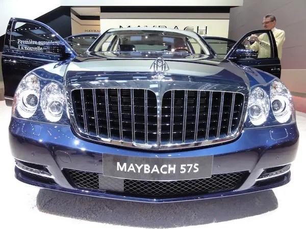 Maybach at Geneva