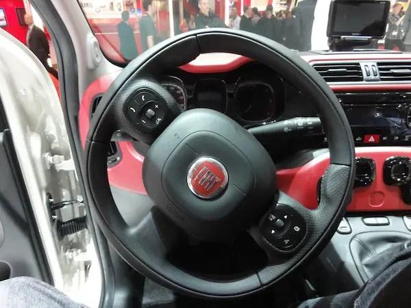 Fiat Panda steering wheel