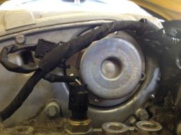 New actuator installed, and after a drive, checked for any recurring leaks.