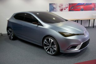 SMTC UK's MG5 Concept model
