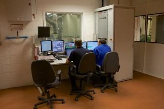 SMTC UK's Engineers monitoring an engine under test