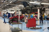 SMTC UK's expanded Vehicle Engineering Workshop