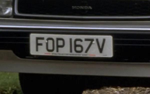 V-registration day, 1 August 1979