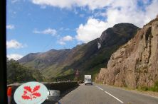 Road and sunshine are fantastic - the A82 towards Fort William