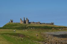 Dunstanburgh Castle - a great stop half way to North Yorkshire Moors